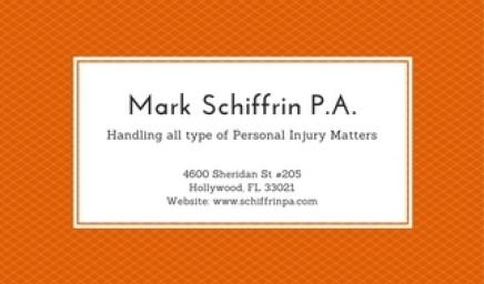 Mark Schiffrin P.A. 2017-08-19
