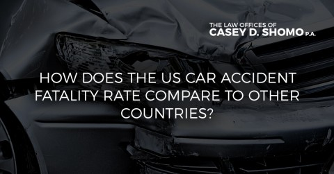 How US Car Accident Death Rates Compare to Other Nations
