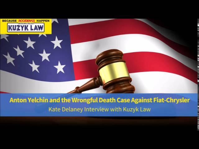 Kate Delaney Interview with Kuzyk Law   Wrongful Death Attorney Robert Ryan